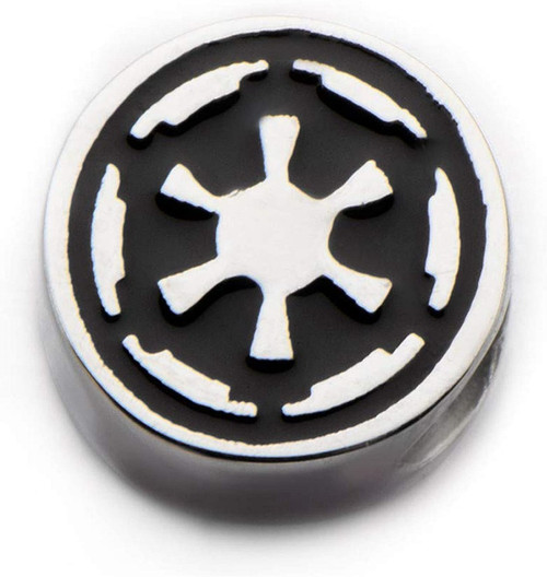 Star Wars Imperial Logo Stainless Steel Bead Charm