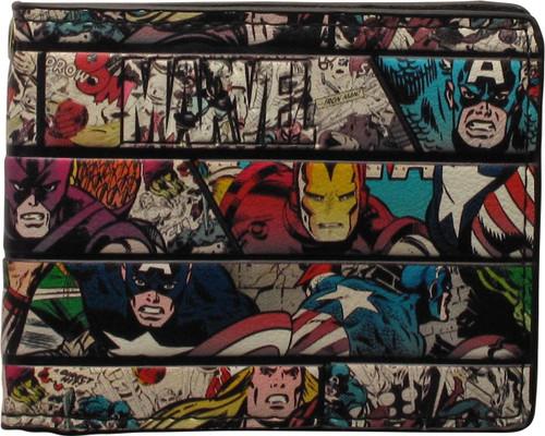Avengers Marvel Comic Panels Bi-Fold Wallet