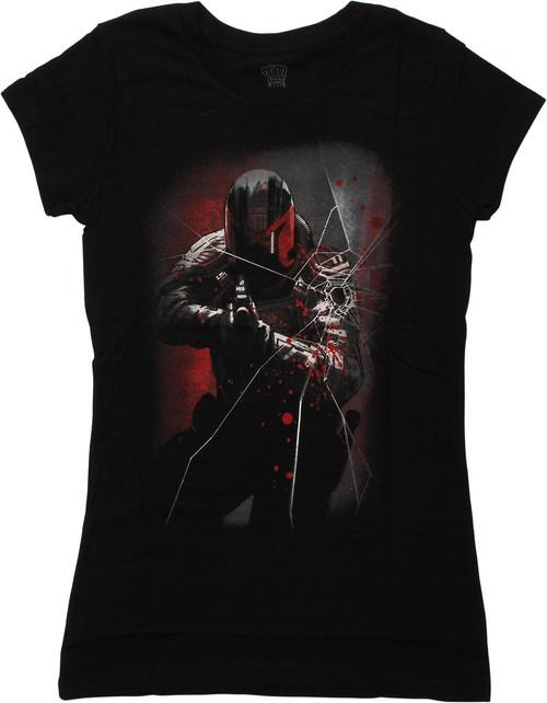 Judge Dredd Movie Underbelly Juniors T-Shirt