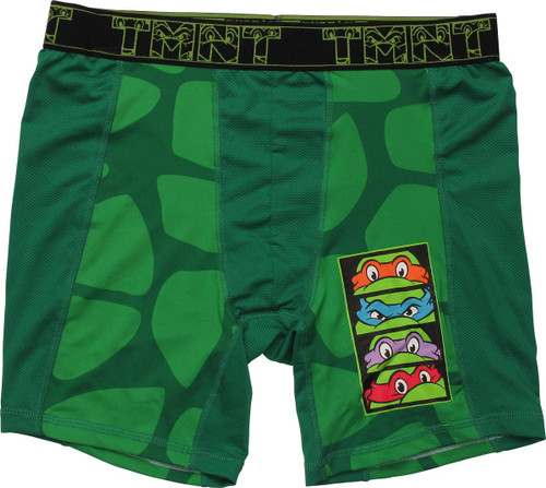 Ninja Turtles Turtle Shell Face Masks Boxer Briefs