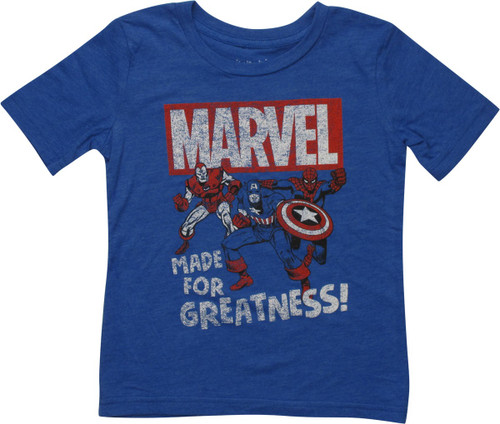 Avengers Made of Greatness Marvel Toddler T-Shirt