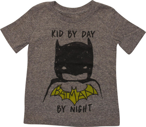 Batman Kid By Day Batman By Night Toddler T-Shirt