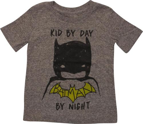 Batman Kid By Day Batman By Night Toddler T-Shirt