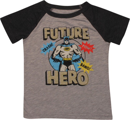 Batman Future Hero Crash Ringer Toddler T-Shirt