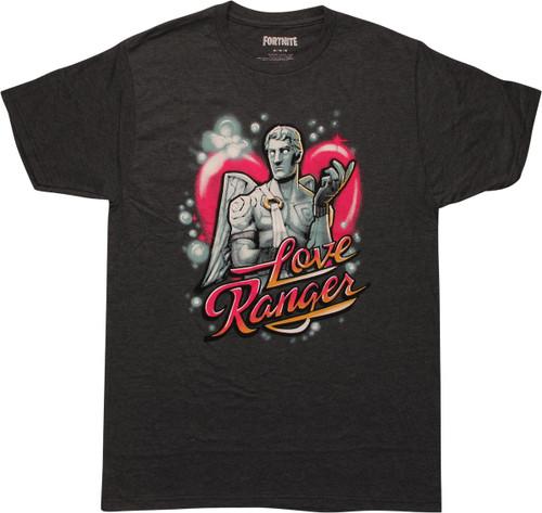 Fortnite Love Ranger Legendary Skin Gray T-Shirt