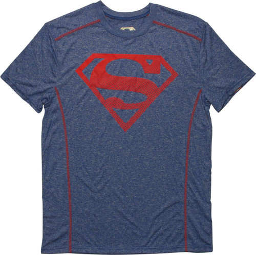 Superman Logo Active Leisurewear T-Shirt