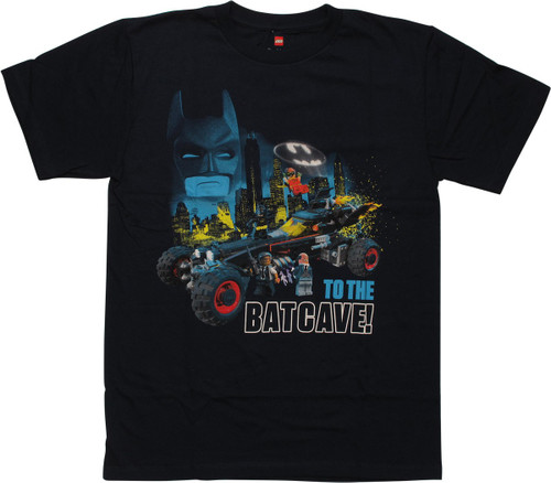 Batman Lego Movie to the Batcave Youth T-Shirt