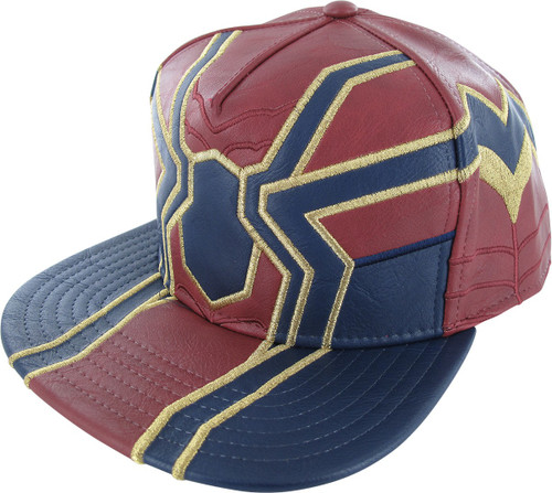 Spiderman Infinity War Iron Suit Snap Hat