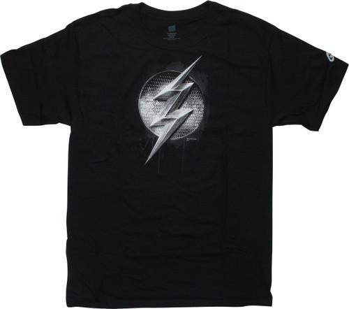 Flash Justice League Movie Logo T-Shirt