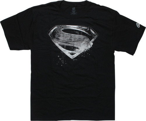 Superman Justice League Movie Logo T-Shirt