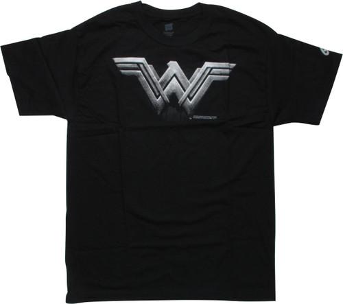 Wonder Woman Justice League Movie Logo T-Shirt