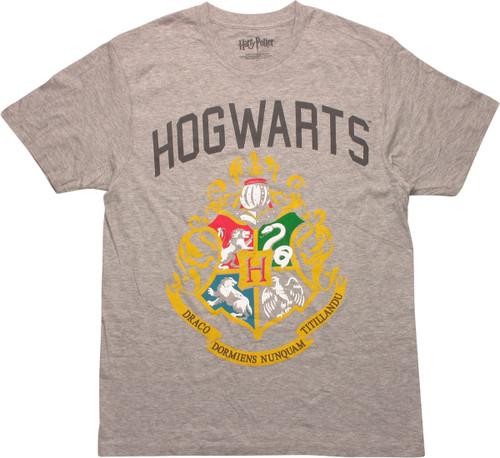 Harry Potter Hogwarts Basic Crest T-Shirt