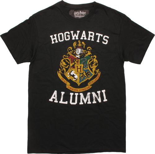 Harry Potter Hogwarts Alumni Vintage T-Shirt