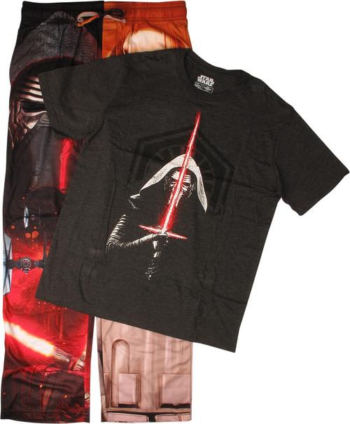 Star Wars Kylo Ren Captain Phasma Pajama Set