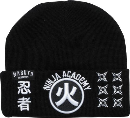 Naruto Shippuden Ninja Academy Cuff Beanie