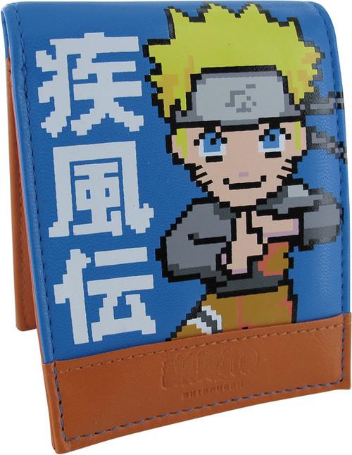 Naruto Shippuden 16 Bit Bi-Fold Wallet