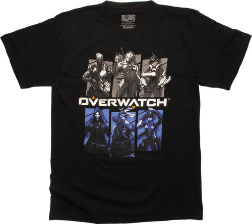 Overwatch Bring Your Friends Black T-Shirt
