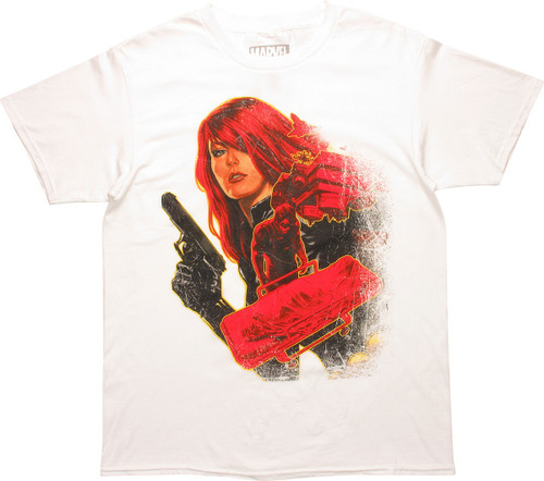Black Widow Winter Soldier #10 T-Shirt