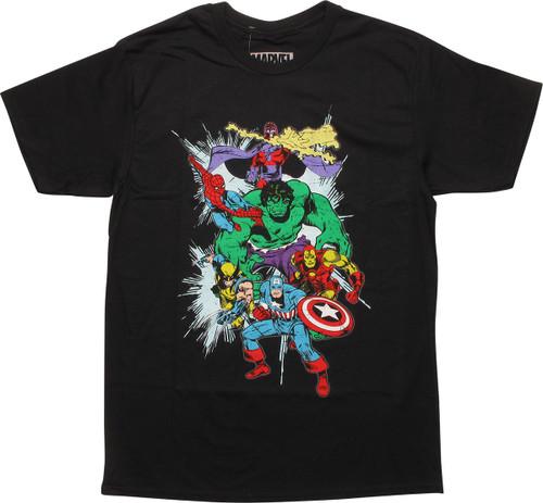 Marvel Avengers Magneto Second War T-Shirt