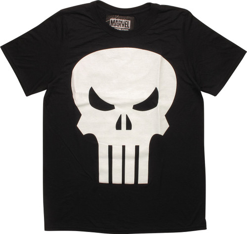 Punisher Large Skull Logo T-Shirt