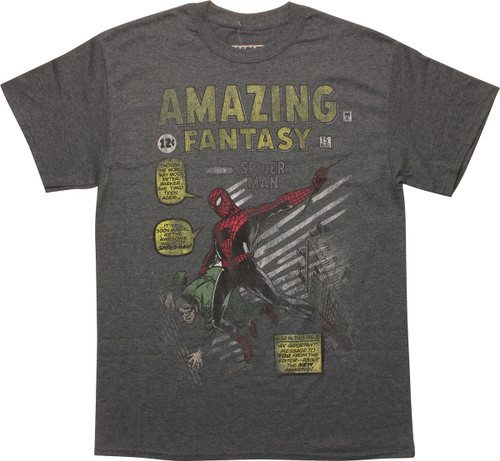 Spiderman Amazing Fantasy Issue 15 T-Shirt