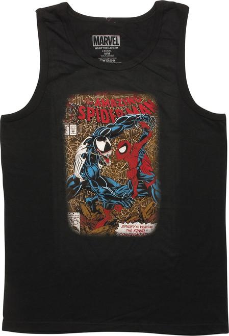 Spiderman #375 Venom Showdown Sleeveless T-Shirt