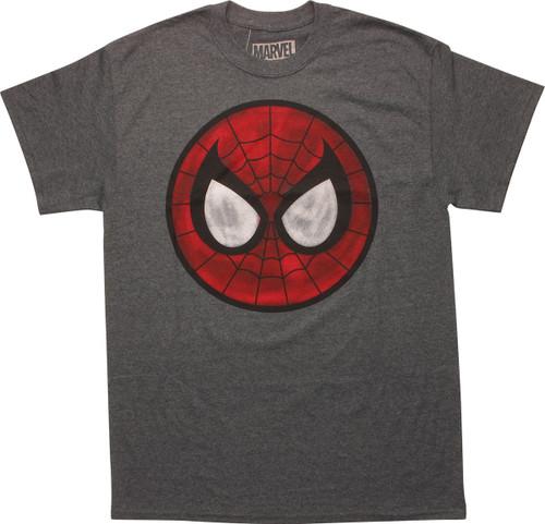 Spiderman Large Mask Logo T-Shirt