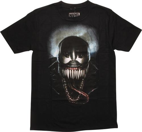 Venom Face of Evil Black T-Shirt