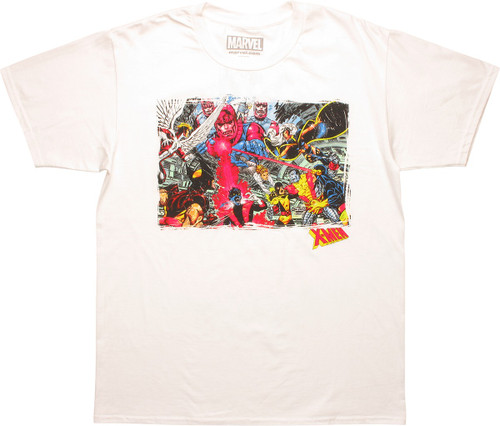 X Men Classic Killed By Sentinels T-Shirt