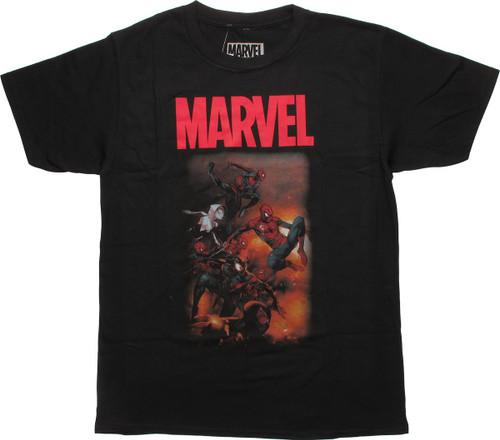Amazing Spiderman Spider-Verse Part 5 Art T-Shirt