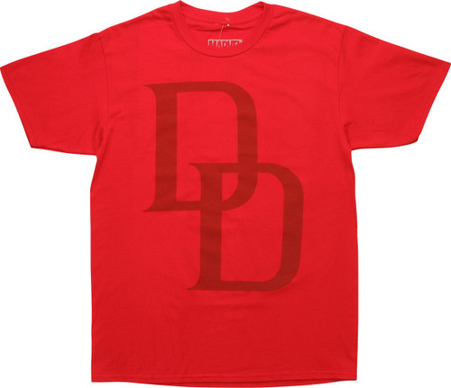 Daredevil DD Logo Red T-Shirt