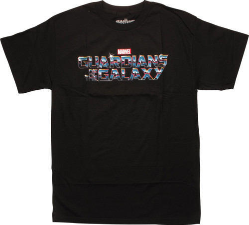 Guardians of the Galaxy Name T-Shirt