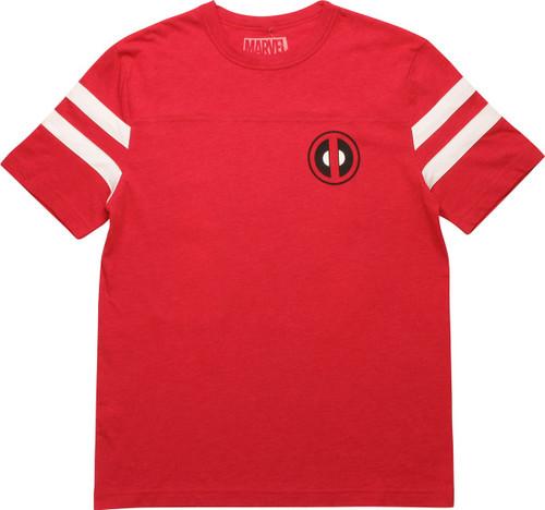 Deadpool Logo Wilson 91 Jersey Shirt