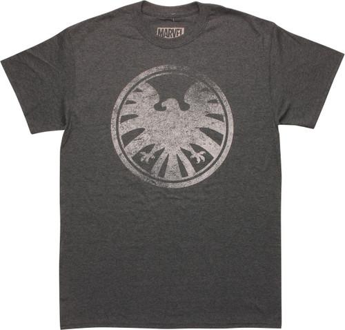 SHIELD Vintage Logo Heather T-Shirt