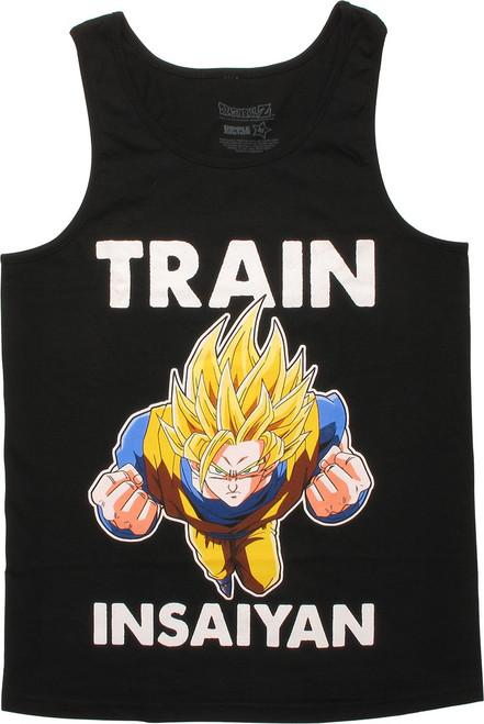 Dragon Ball Z Goku Train Insaiyan Tank Top