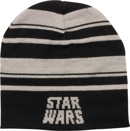 Star Wars Name Stripe Slouch Beanie