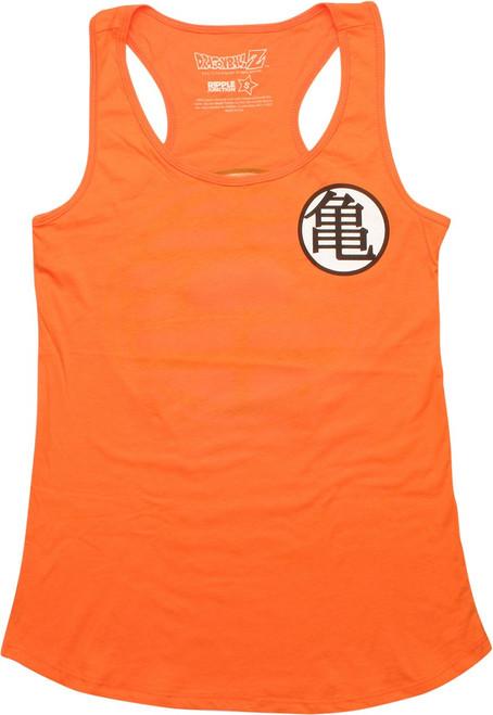 Dragon Ball Z Kame King Tank Top Juniors T-Shirt