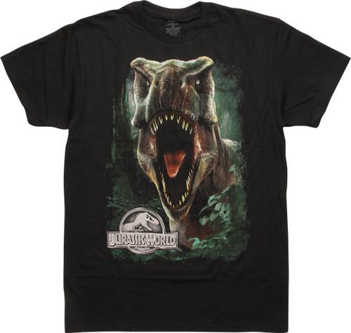 Jurassic World Tyrannosaurus Rex Front T-Shirt