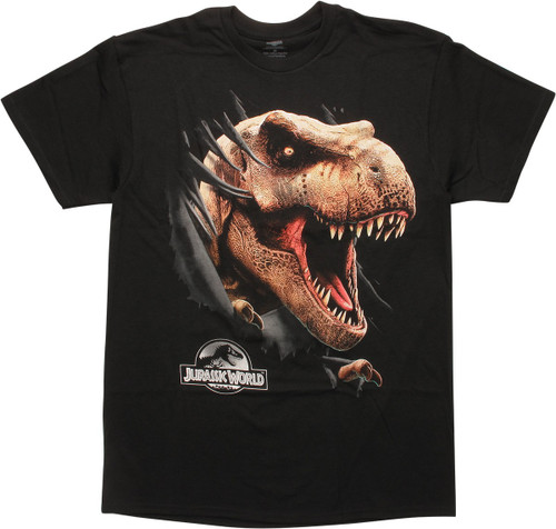 Jurassic World Tyrannosaurus Rex Head T-Shirt