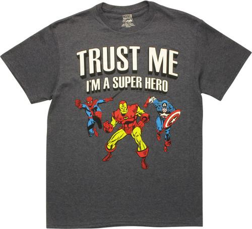 Avengers Trust Me I'm a Superhero T-Shirt