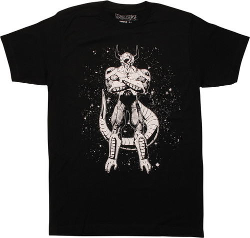 Dragon Ball Z Frieza Second Form BW T-Shirt