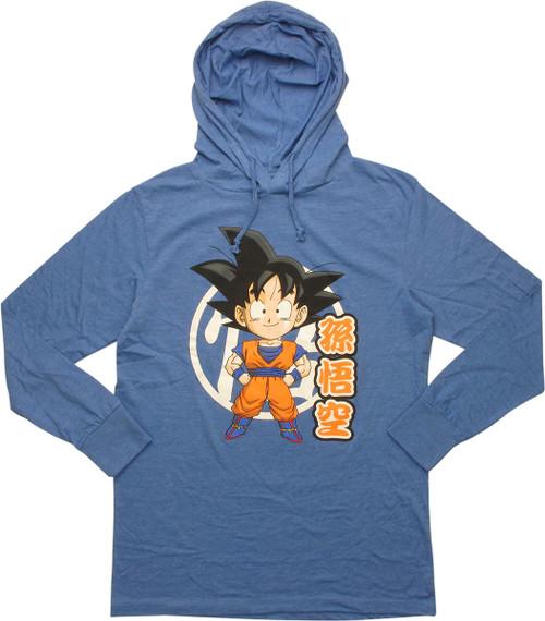 Dragon Ball Z SD Goku Lightweight Pullover Hoodie