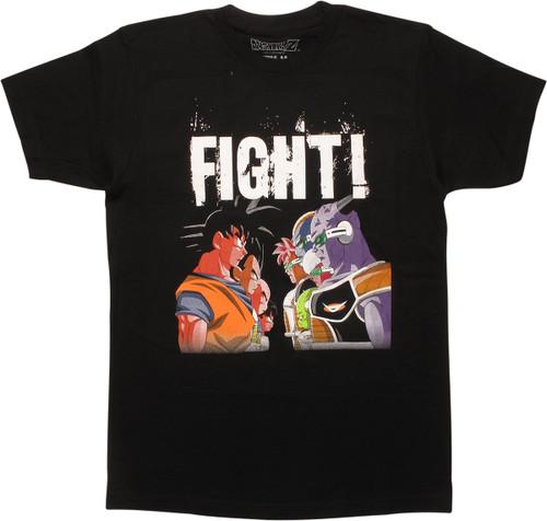 Dragon Ball Z Fight Stand Off Black T-Shirt