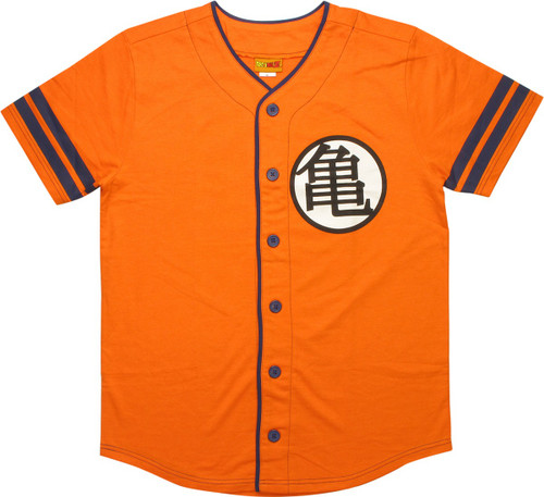 Dragon Ball King Kai Kame Baseball Jersey