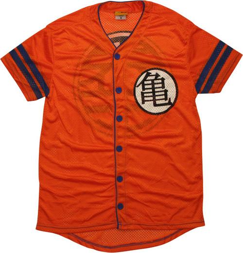 Dragon Ball Z Kame King Mesh Baseball Jersey
