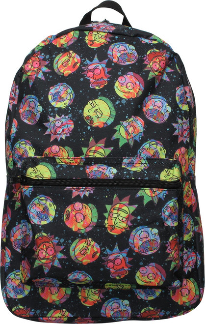 Rick and Morty Cosmic Sublimated Backpack
