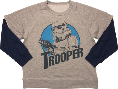 Star Wars Trooper Reversible Youth Sweatshirt