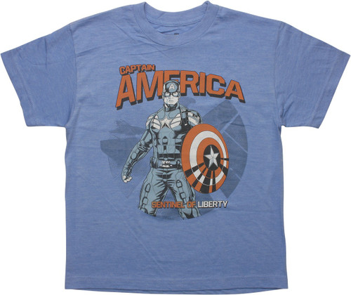 Captain America Sentinel of Liberty Youth T-Shirt