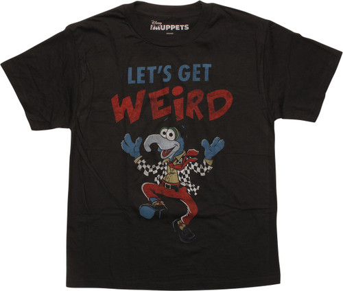 Muppets Gonzo Let's Get Weird Youth T-Shirt