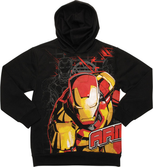 Iron Man 3 Armor Up Pullover Youth Hoodie